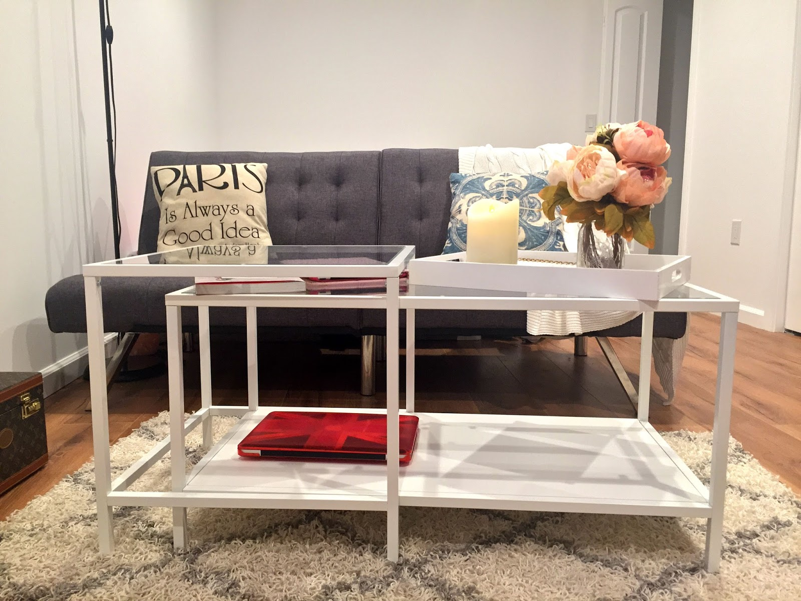 My Fascination Street: Creating a Shabby Chic Living Space