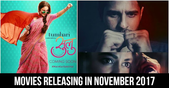 Upcoming Bollywood movies in November 2017