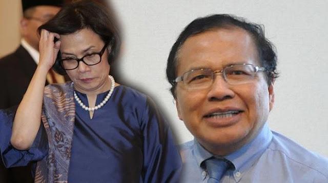 Rizal Ramli Heran Sri Mulyani Baru Ngaku Ekonomi Rentan