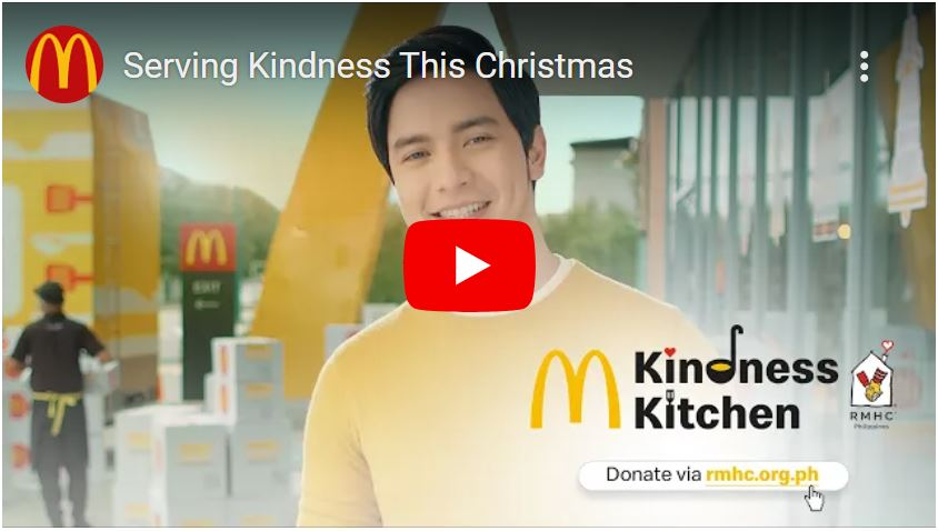 Alden Richards stars in Ronald McDonald House Charities Video