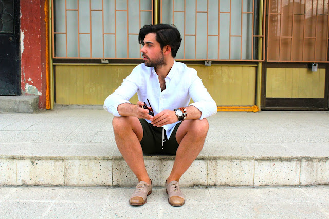 Zara camisa de lino