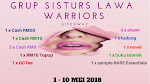 Grup Sisturs Lawa Warrior Giveaway