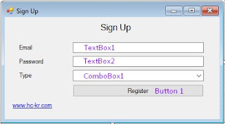 vb.net Registration Form with SQL Server