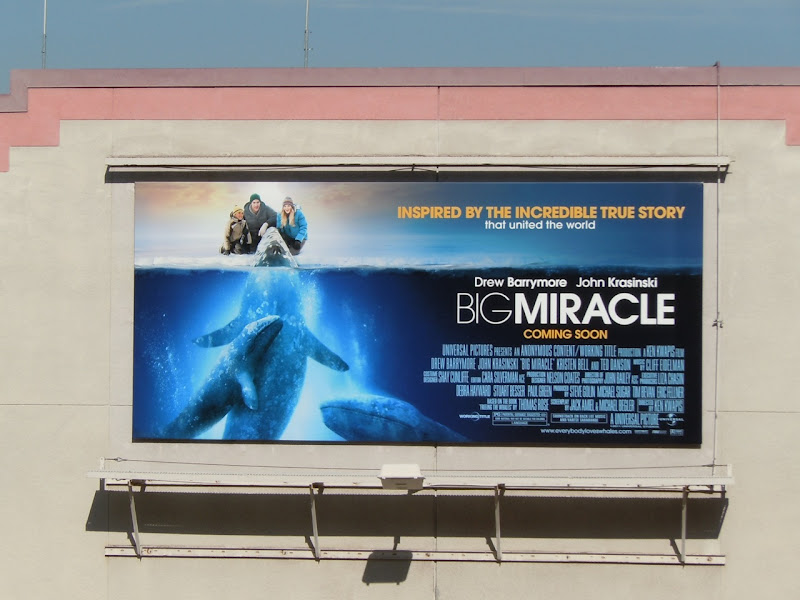 Big Miracle film billboard