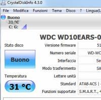 test velocità hard disk