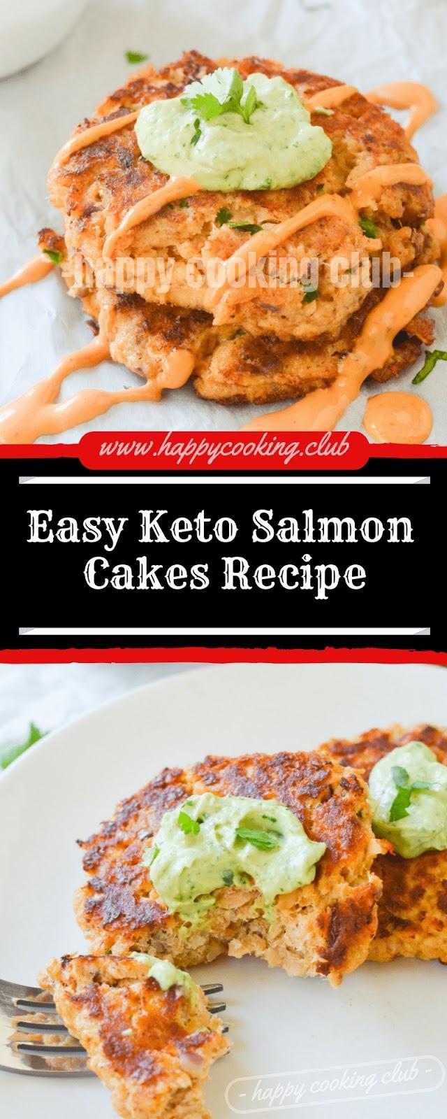 Easy Keto Salmon Cakes Recipe