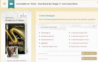 https://www.lovelybooks.de/autor/Liane-Mars/Fairy-Das-Band-der-Magie-3-1274502715-w/leserunde/1353969873/