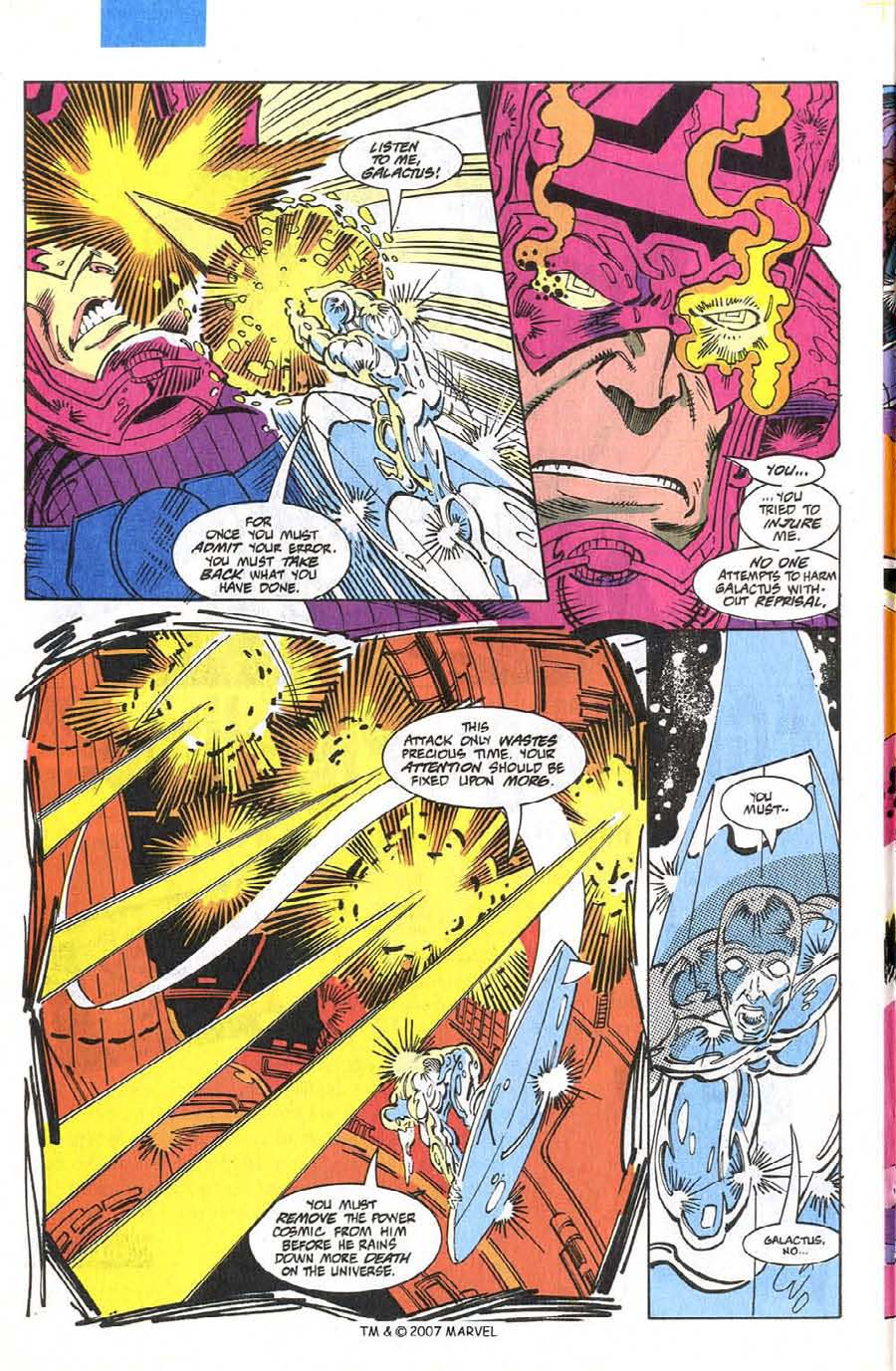 Read online Silver Surfer (1987) comic -  Issue #75 - 18