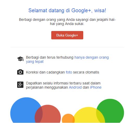 Cara Mengaktifkan Akun Google Plus