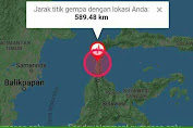 Gempa Bumi di Sulbar dan Sulteng Warga Sulsel Rasakan Getaran