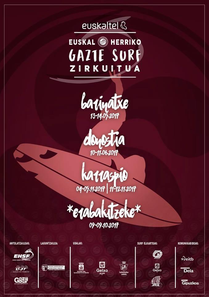 euskal herriko gazte surf zirkuitua 2017