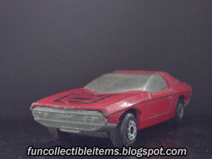 Red Vauxhall | Matchbox Car