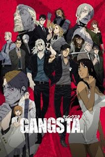 Gangsta. (2015), movie, anime, poster, nonton trailer, data lengkap
