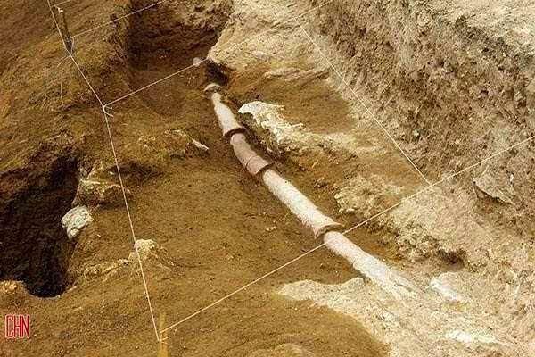 Sistem Pipa Air Kuno Yang Ditemukan di Iran