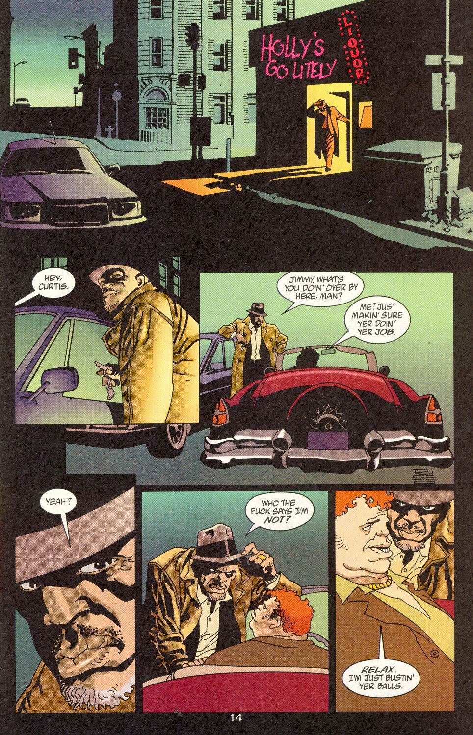 Read online 100 Bullets comic -  Issue #15 - 16