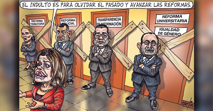 Carlincaturas Domingo 28 Enero 2018 - La República