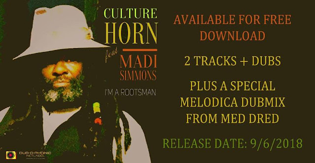 Culture Horn, Madi Simmons, Jahpapu, Med Dred, Dubophonic -Outernational Roots Reggae