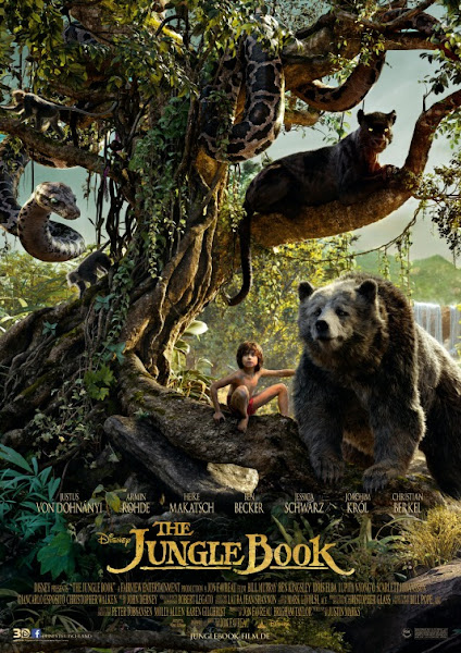 Poster Of The Jungle Book 2016 480p Hindi BRRip Dual Audio 300MB HEVC