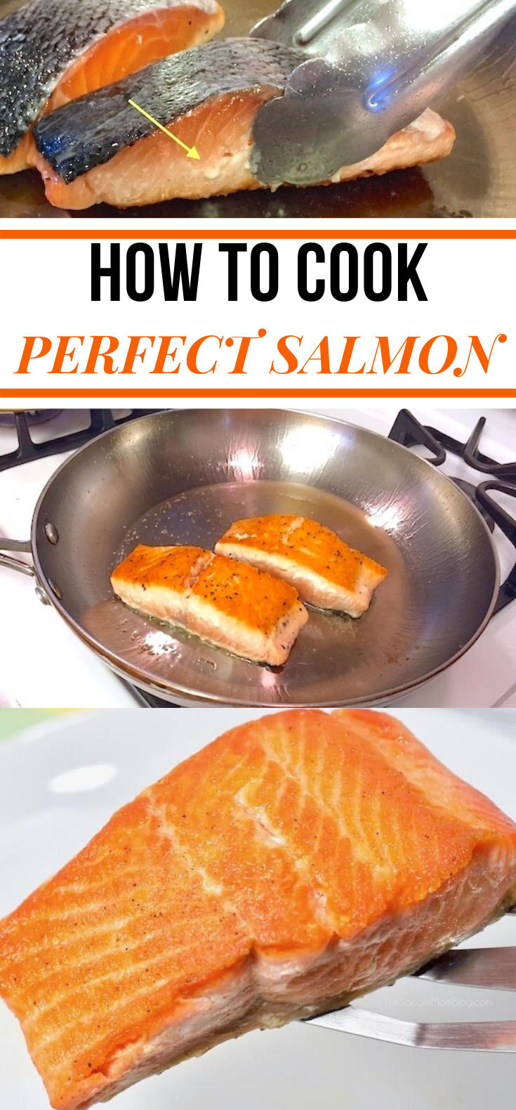 How to Cook Restaurant Style Salmon at Home #DIY #Dinner