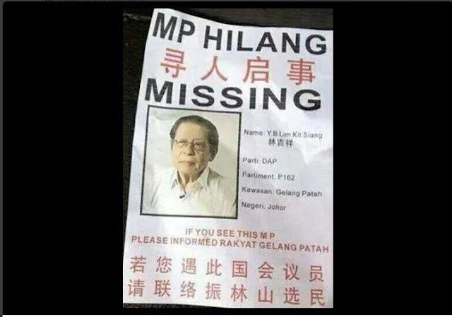 Penduduk Gelang Patah Bakal Hukum Kit Siang #MCA