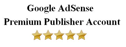 AdSense Premium Publisher Account