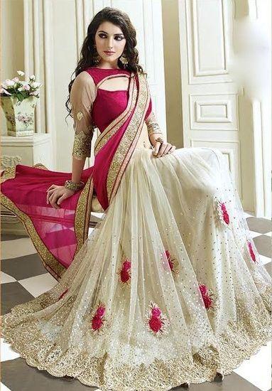 pakistani and indian designer party wear saree collection 2017 2018 sari info. Black Bedroom Furniture Sets. Home Design Ideas