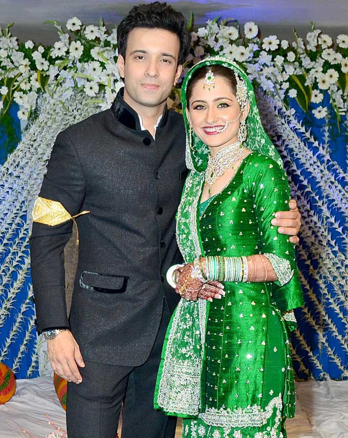 Aamir Ali And Sanjeeda Sheikh Wedding Pictures Star Tv Links