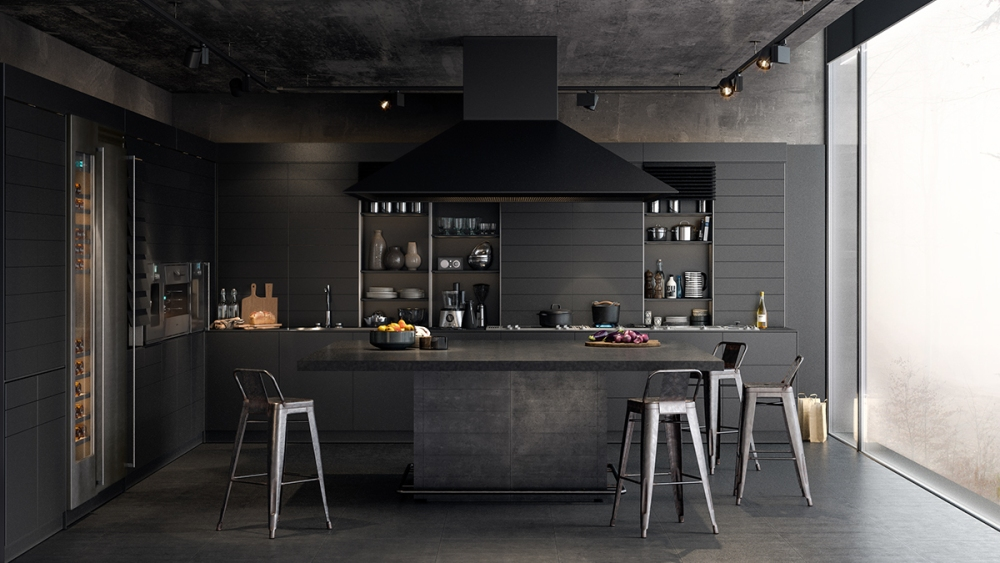 Stunning Black Kitchens Designs