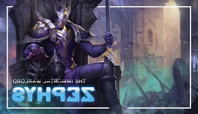 Build Item Pro Zephys di AOV Terbaru Season 3