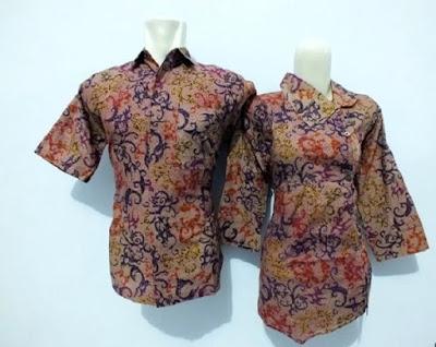 Baju Batik Seragam Guru Wanita dan Pria
