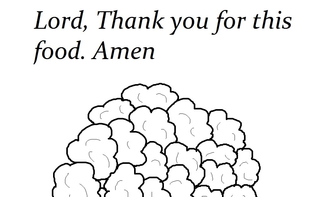 Church House Collection Blog: Lord Thank You For This Food