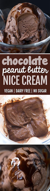 Chocolate Peanut Butter Nice Cream