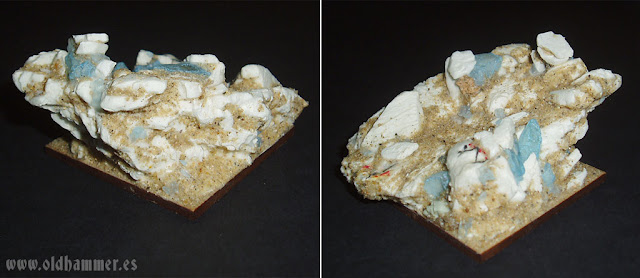 base peana rocas