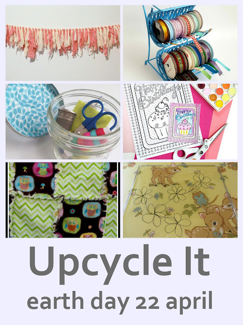 Upcycle and create something new from old this Earth Day