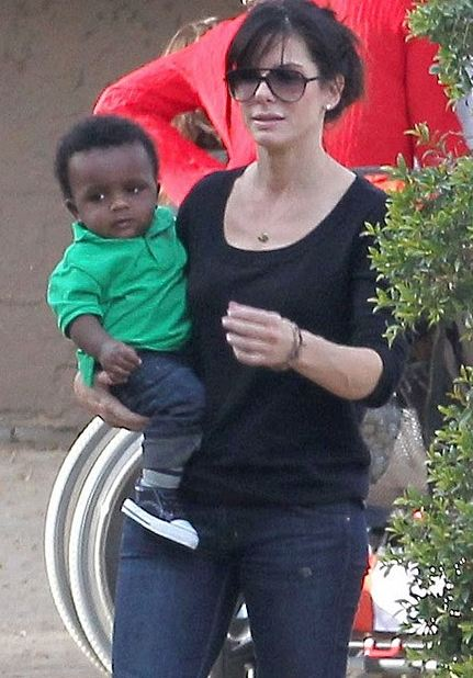 Sandra Bullock's Adoption !