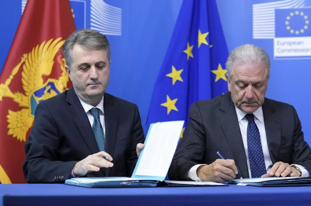 Border management agreement signed by Montenegro and European Union