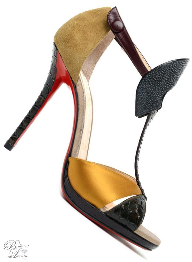 Brilliant Luxury ♦ Christian Louboutin Aztek