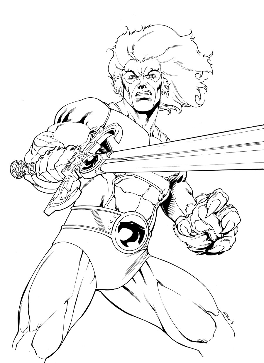 coloring pages thundercats.html