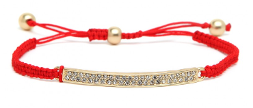 BaubleBar Rainbow ID Bracelet: $22