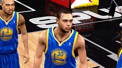 NBA 2K13 Stephen Curry Face Update Playoffs