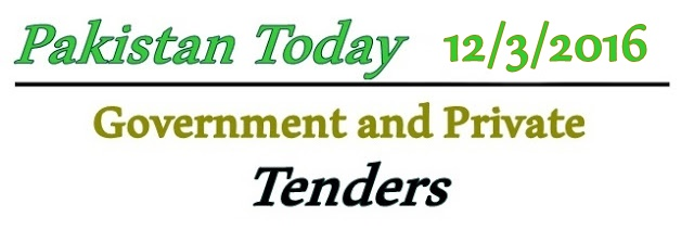 Saturday Tenders