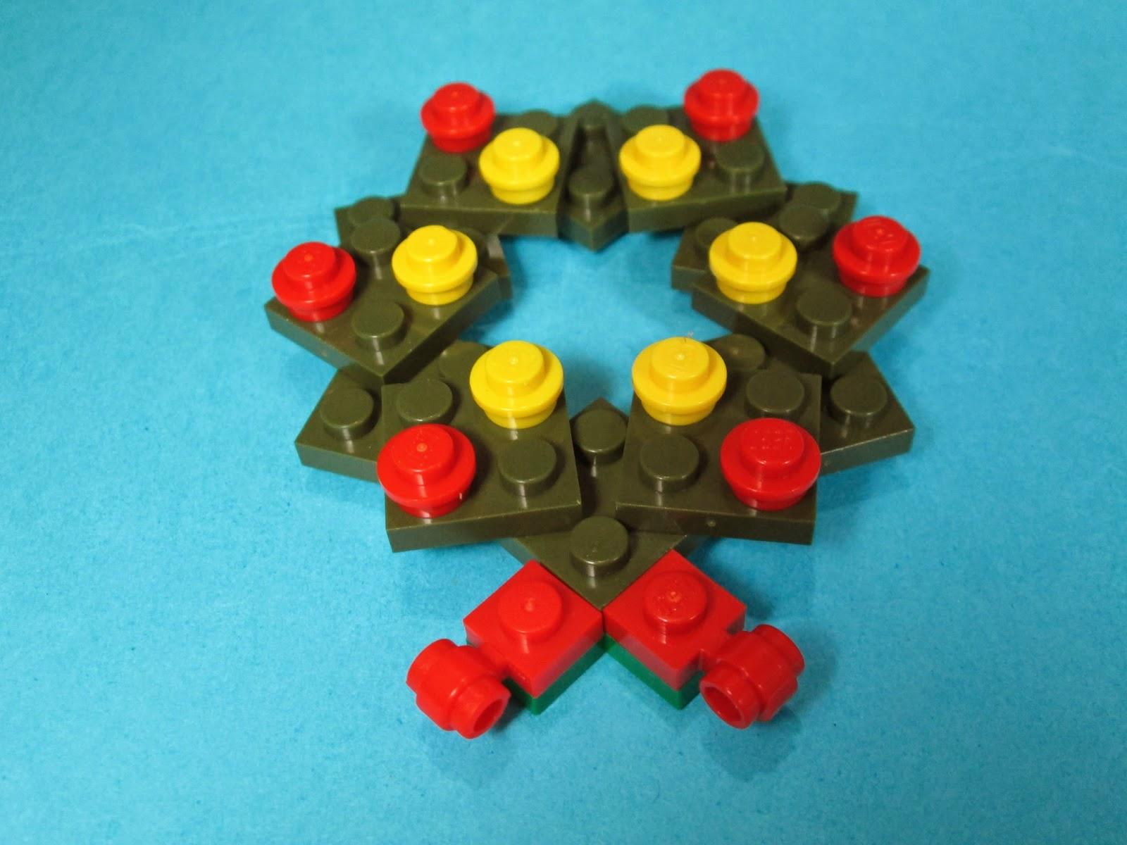 MOC LEGO - Coroa de Natal
