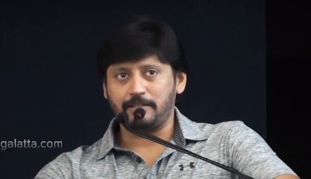 I never played such a role in my long career, Prashanth   Johny Press Meet
