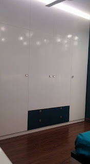 Wardrobe in Duco Paint