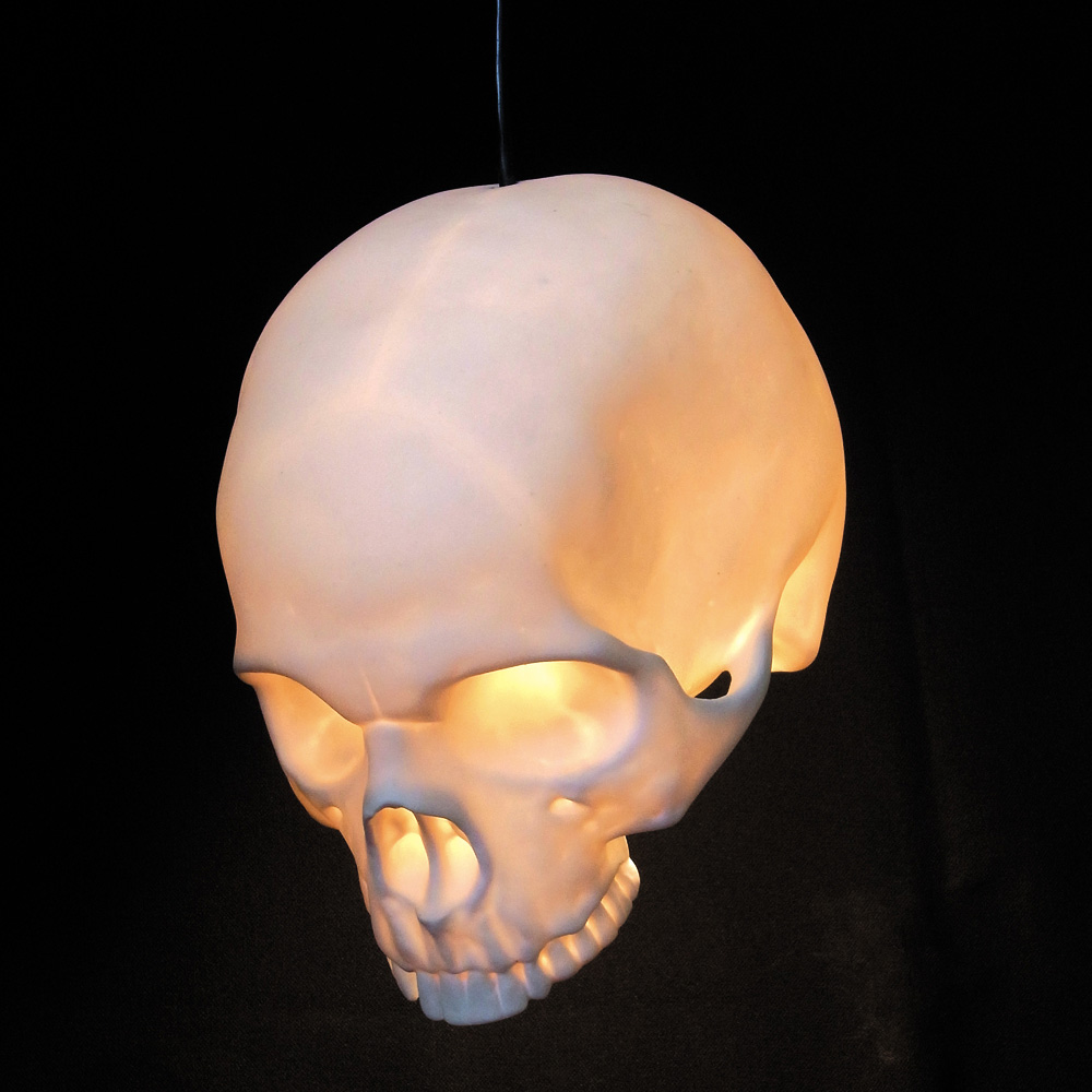 If It's Hip, It's Here (Archives): Hand Cast Bone China Skull ...
