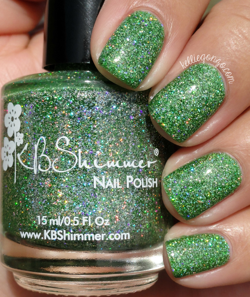 KBShimmer Smells Like Green Spirit