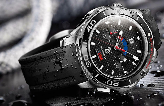 TAG Heuer Aquaracer Calibre 72 Automatic Chronograph Watches Review