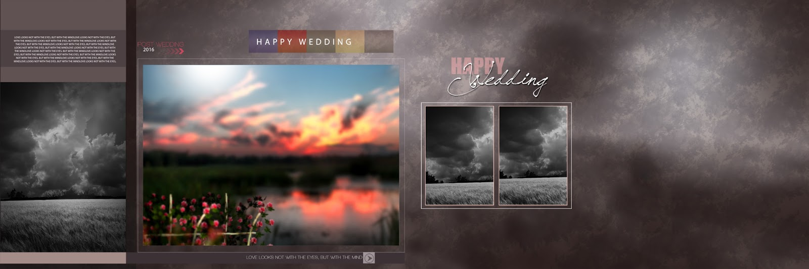 PSD WEDDING PHOTO ALBUM DESIGN TEMPLATES: Photoshop background (PSD ...