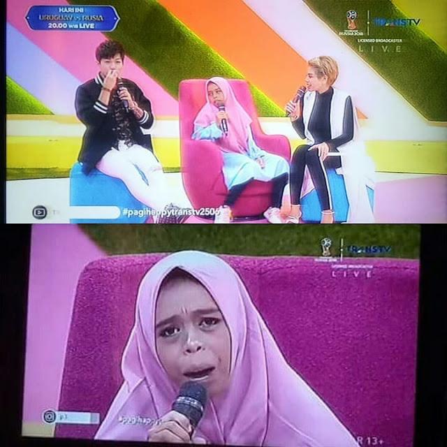 Perempuan yang Mengaku Istri Sah Iqbaal Ramadhan di Undang ke Televisi