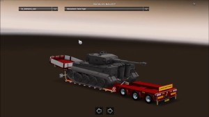 Doll Vario 3 Axle trailer with new Backlights and in Traffic v 6